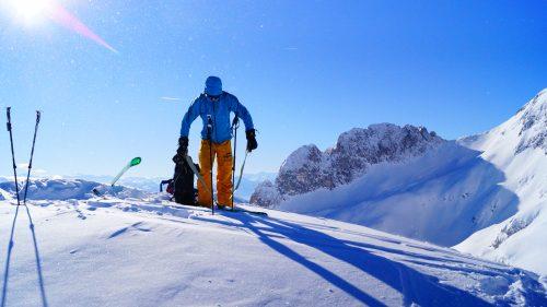 """Schneeschuhwandern am Untersberg """"DIE ABENTEUERLICHE"""""""