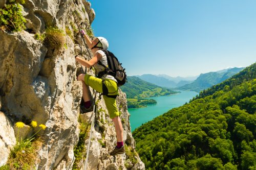 Für Genießer – Drachenwand Klettersteig