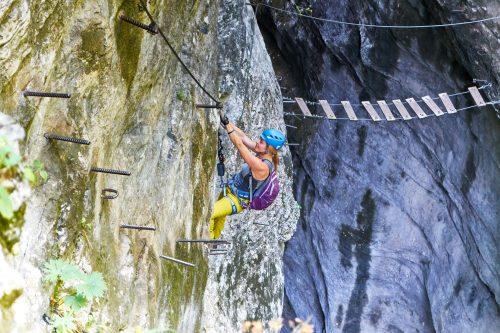 Klettersteig für Abenteurer – Postalm Klettersteig