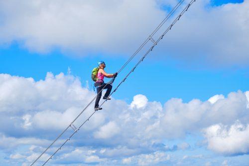 Klettersteig für mutige – Donnerkogel Klettersteig