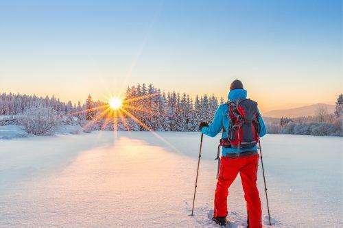 """Schneeschuhwandern am Untersberg """"DIE GENUSSREICHE"""""""